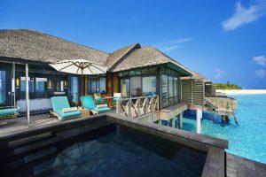 ja manafaru water villa